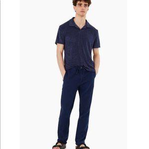 ONIA Men's Collin Navy Pant 100% Linen XXL NWT*